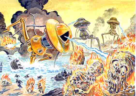 The War of the Worlds book picture